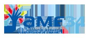 Association des Maires de l'Hérault – AMF34 Logo